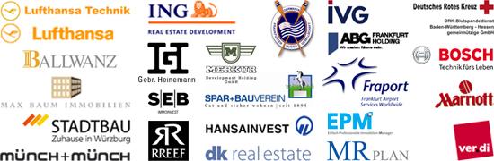 Auftraggeber Logos